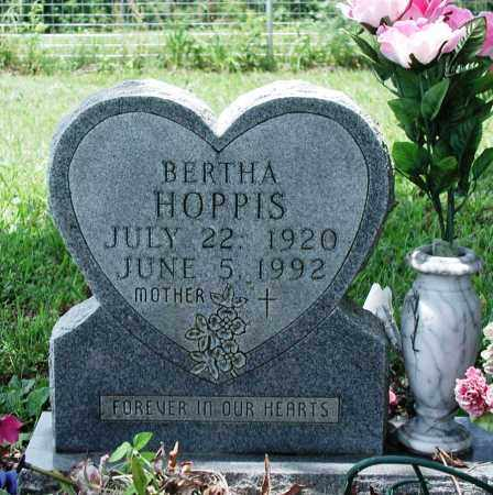 HOPPIS, BERTHA - Newton County, Arkansas | BERTHA HOPPIS - Arkansas Gravestone Photos