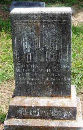 HOPPIS, RUTHA - Newton County, Arkansas | RUTHA HOPPIS - Arkansas Gravestone Photos