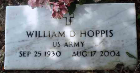 HOPPIS (VETERAN), WILLIAM D - Newton County, Arkansas | WILLIAM D HOPPIS (VETERAN) - Arkansas Gravestone Photos
