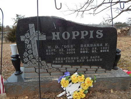 "HOPPIS, W D ""DEE"" - Newton County, Arkansas 