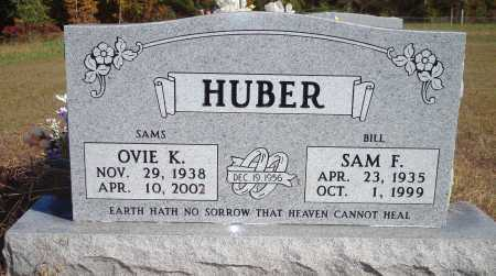HUBER, OVIE K - Newton County, Arkansas | OVIE K HUBER - Arkansas Gravestone Photos