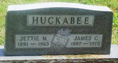 HUCKABEE, JETTIE M - Newton County, Arkansas | JETTIE M HUCKABEE - Arkansas Gravestone Photos