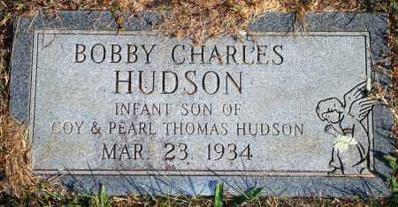 HUDSON, BOBBY CHARLES - Newton County, Arkansas | BOBBY CHARLES HUDSON - Arkansas Gravestone Photos