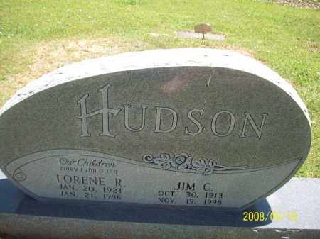 HUDSON, JIM C - Newton County, Arkansas | JIM C HUDSON - Arkansas Gravestone Photos