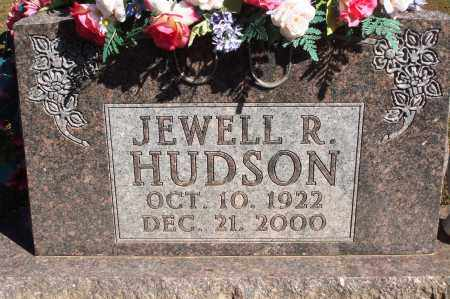 HUDSON, JEWELL R. - Newton County, Arkansas | JEWELL R. HUDSON - Arkansas Gravestone Photos