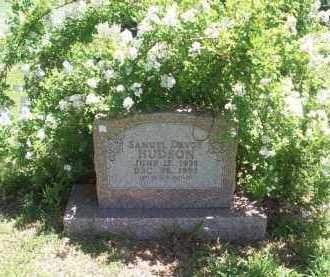 HUDSON, SAMUEL DEVOE - Newton County, Arkansas | SAMUEL DEVOE HUDSON - Arkansas Gravestone Photos