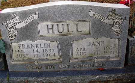 HULL, FRANKLIN - Newton County, Arkansas | FRANKLIN HULL - Arkansas Gravestone Photos