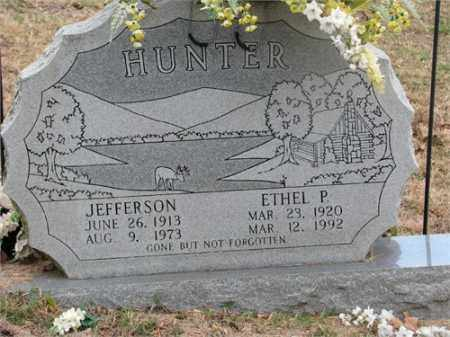 HUNTER, JEFFERSON - Newton County, Arkansas | JEFFERSON HUNTER - Arkansas Gravestone Photos