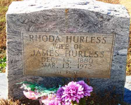 HURLESS, RHODA - Newton County, Arkansas | RHODA HURLESS - Arkansas Gravestone Photos