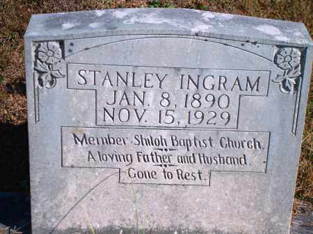 INGRAM, STANLEY - Newton County, Arkansas | STANLEY INGRAM - Arkansas Gravestone Photos