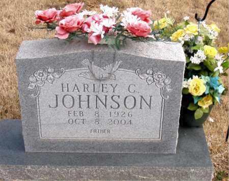 JOHNSON, HARLEY C. - Newton County, Arkansas | HARLEY C. JOHNSON - Arkansas Gravestone Photos