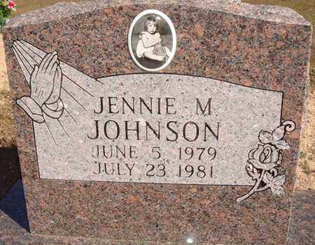 JOHNSON, JENNIE M. - Newton County, Arkansas | JENNIE M. JOHNSON - Arkansas Gravestone Photos