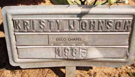 JOHNSON, KRISTY - Newton County, Arkansas | KRISTY JOHNSON - Arkansas Gravestone Photos