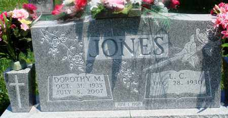 JONES, DOROTHY M - Newton County, Arkansas | DOROTHY M JONES - Arkansas Gravestone Photos