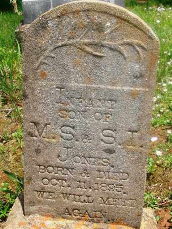 JONES, INFANT SON - Newton County, Arkansas | INFANT SON JONES - Arkansas Gravestone Photos