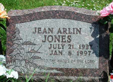 JONES, JEAN ARLIN - Newton County, Arkansas | JEAN ARLIN JONES - Arkansas Gravestone Photos
