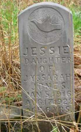 JONES, JESSIE - Newton County, Arkansas | JESSIE JONES - Arkansas Gravestone Photos