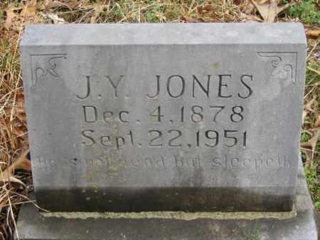 JONES, J. Y. - Newton County, Arkansas | J. Y. JONES - Arkansas Gravestone Photos
