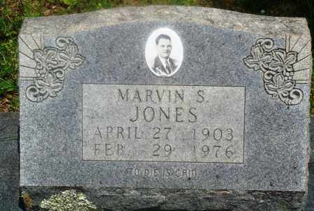 JONES, MARVIN S - Newton County, Arkansas | MARVIN S JONES - Arkansas Gravestone Photos