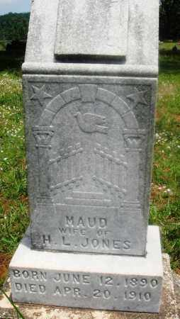 JONES, MAUD - Newton County, Arkansas | MAUD JONES - Arkansas Gravestone Photos