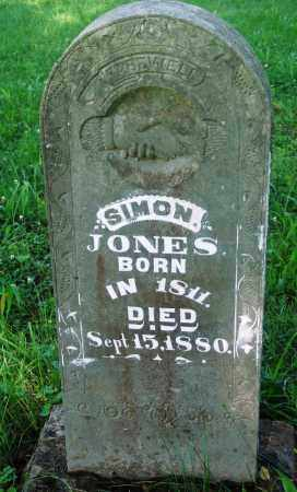 JONES, RICHARD SIMON - Newton County, Arkansas | RICHARD SIMON JONES - Arkansas Gravestone Photos