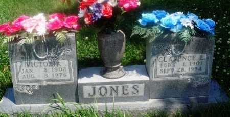 JONES, VICTORIA - Newton County, Arkansas | VICTORIA JONES - Arkansas Gravestone Photos