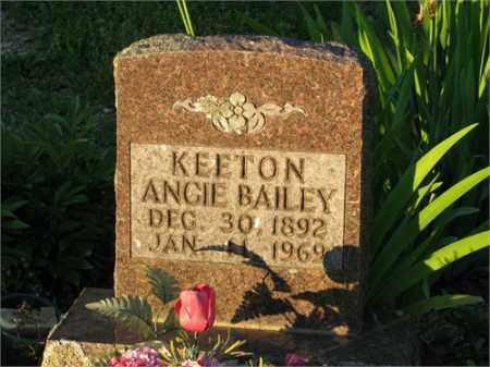KEETON, ANGIE - Newton County, Arkansas | ANGIE KEETON - Arkansas Gravestone Photos