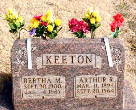 KEETON, BERTHA M. - Newton County, Arkansas | BERTHA M. KEETON - Arkansas Gravestone Photos