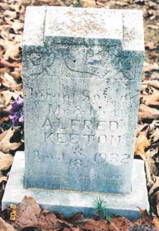 KEETON, INFANT SON - Newton County, Arkansas | INFANT SON KEETON - Arkansas Gravestone Photos