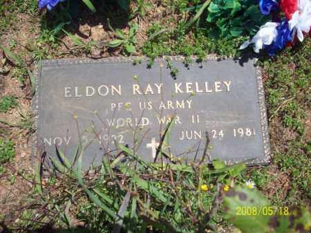 KELLEY  (VETERAN WWII), ELDON RAY - Newton County, Arkansas | ELDON RAY KELLEY  (VETERAN WWII) - Arkansas Gravestone Photos