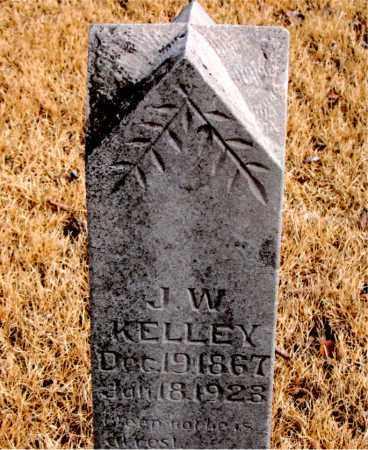 KELLEY, J. W. - Newton County, Arkansas | J. W. KELLEY - Arkansas Gravestone Photos