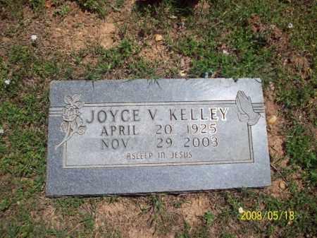 KELLEY, JOYCE V - Newton County, Arkansas | JOYCE V KELLEY - Arkansas Gravestone Photos