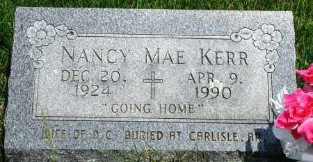 KERR, NANCY MAE - Newton County, Arkansas | NANCY MAE KERR - Arkansas Gravestone Photos