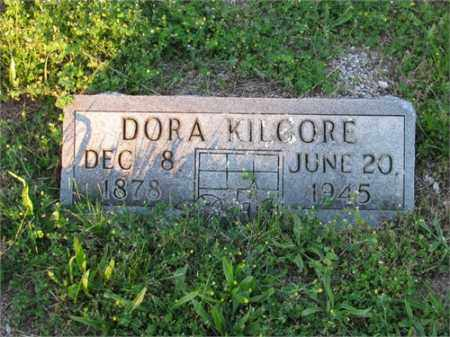KILGORE, DORA - Newton County, Arkansas | DORA KILGORE - Arkansas Gravestone Photos