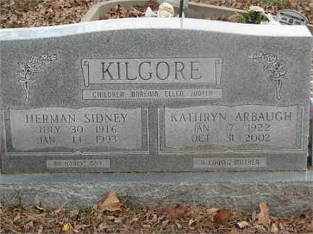 KILGORE, HERMAN SIDNEY - Newton County, Arkansas | HERMAN SIDNEY KILGORE - Arkansas Gravestone Photos
