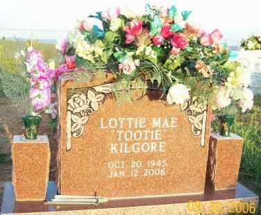 KILGORE, LOTTIE MAE - Newton County, Arkansas | LOTTIE MAE KILGORE - Arkansas Gravestone Photos