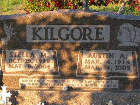 KILGORE, AUSTIN A. - Newton County, Arkansas | AUSTIN A. KILGORE - Arkansas Gravestone Photos