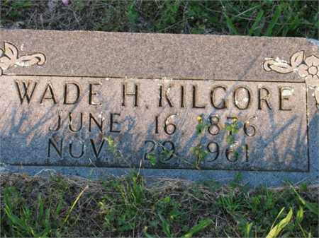 KILGORE, WADE - Newton County, Arkansas | WADE KILGORE - Arkansas Gravestone Photos
