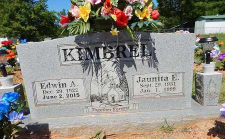 KIMBREL, JAUNITA E. - Newton County, Arkansas | JAUNITA E. KIMBREL - Arkansas Gravestone Photos