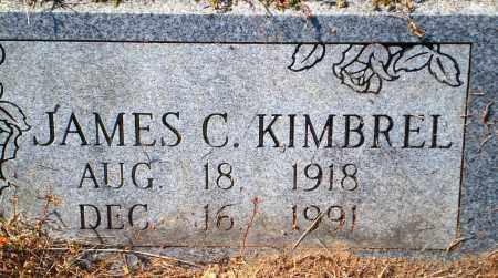 KIMBREL, JAMES C. - Newton County, Arkansas | JAMES C. KIMBREL - Arkansas Gravestone Photos