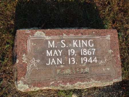 KING, M. S. - Newton County, Arkansas | M. S. KING - Arkansas Gravestone Photos
