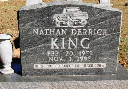 KING, NATHAN DERRICK - Newton County, Arkansas | NATHAN DERRICK KING - Arkansas Gravestone Photos