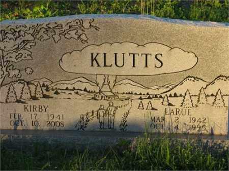 KLUTTS, KIRBY - Newton County, Arkansas | KIRBY KLUTTS - Arkansas Gravestone Photos