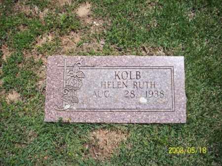 KOLB, HELEN RUTH - Newton County, Arkansas | HELEN RUTH KOLB - Arkansas Gravestone Photos