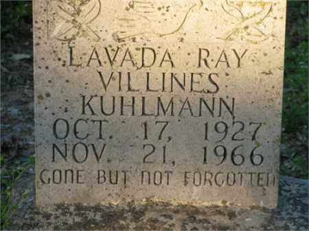 KUHLMANN, LAVADA RAY - Newton County, Arkansas | LAVADA RAY KUHLMANN - Arkansas Gravestone Photos