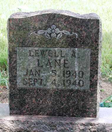 LANE, LEWELL A - Newton County, Arkansas | LEWELL A LANE - Arkansas Gravestone Photos