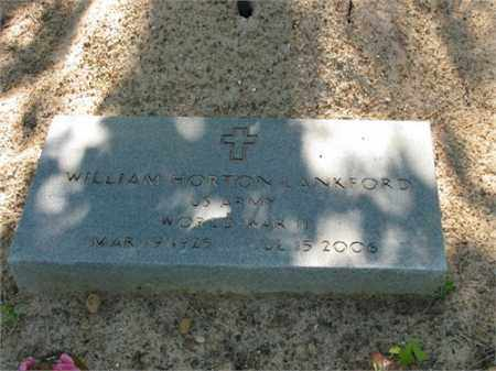 LANKFORD (VETERAN WWII), WILLIAM HORTON - Newton County, Arkansas | WILLIAM HORTON LANKFORD (VETERAN WWII) - Arkansas Gravestone Photos