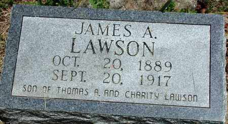 LAWSON, JAMES A - Newton County, Arkansas | JAMES A LAWSON - Arkansas Gravestone Photos