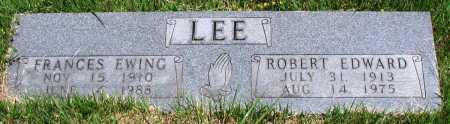 LEE, ROBERT EDWARD - Newton County, Arkansas | ROBERT EDWARD LEE - Arkansas Gravestone Photos