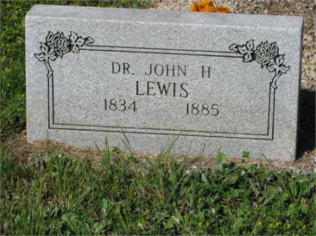 LEWIS, JOHN H. - Newton County, Arkansas | JOHN H. LEWIS - Arkansas Gravestone Photos